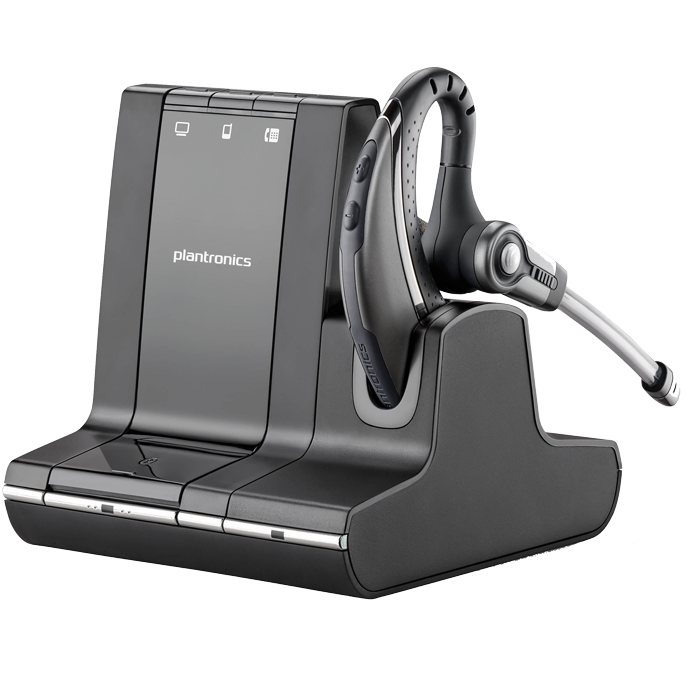 Plantronics W730 Savi 730 Office Wireless Headset On-the-Ear - Ghekko
