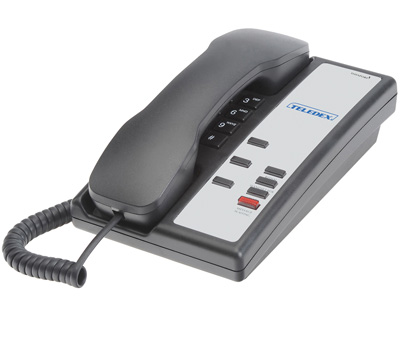 Teledex Nugget 3 series Hospitality Phones Black