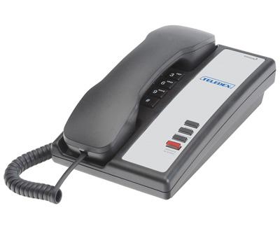 Teledex Nugget series Hospitality Phones black - Ghekko