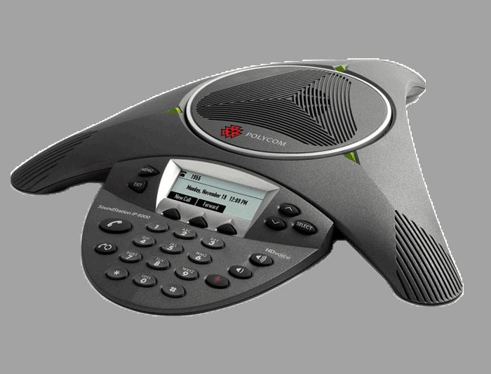 Ghekko Matériel Polycom - Polycom IP6000 SIP Téléphone de conférence
