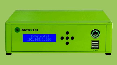 Ghekko fournisseur de sytème téléphonique - E-Metrotel UCX20