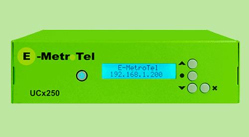 Ghekko fournisseur de sytème téléphonique - E-Metrotel UCX250