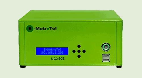 Ghekko fournisseur de sytème téléphonique - E-Metrotel UCX50E